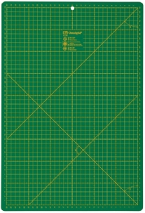 Securit rolsnijmat, groen, 450x600x2mm
