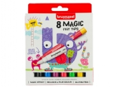 Bruynzeel Kids tover/magic viltstiften  assortiment 8 st