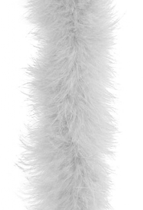 Boa marabou, 1 meter, wit