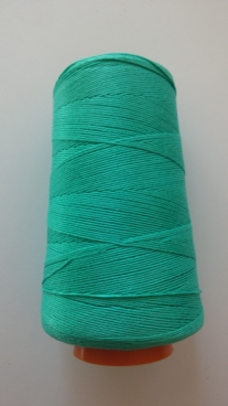 Cotton 12  100gr zeegroen