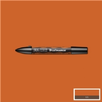 WN Brushmarker/Illustratormarker duo-point, saddle brown (O345)