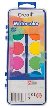 Creall waterverf/Creall-watercolor, assortiment 12 napjes