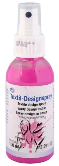 Textiel design verfspray, 100 ml, violet