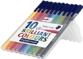 Staedtler triplus color viltstiften box ass. 10 st