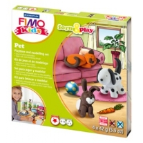 Fimo kids form and play set Pet
