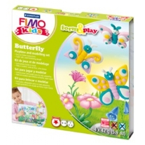 Fimo kids form and play set Butterfly