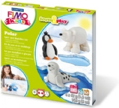 Fimo kids form and play set Polar