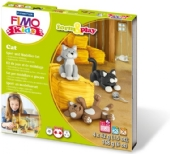 Fimo kids form and play set Cat