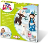 Fimo kids form and play set Snow princess