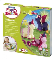 Fimo kids form and play set Unicorn