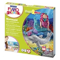 Fimo kids form and play set Mermaid