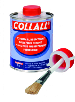 Collall fotolijm/rubbercement, 1000 ml, dop met kwastje