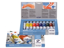 Talens van Gogh aquarelverf, assortiment 10 tubes a 10 ml