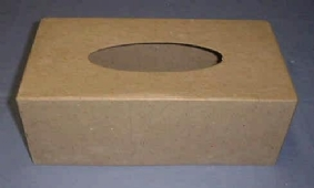 Eco shape tissuebox 240x130x90mm