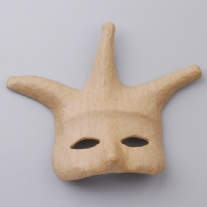 Eco shape oogmasker harlekijn, 195x245mm