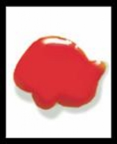 Creall-Glass stickerverf/windowcolour, 80ml. Rood