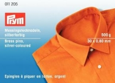 PRYM spelden messing vernikkeld 30x0,80mm 500gr